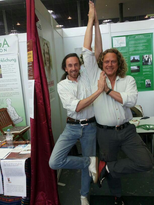 Dieter + Michael Yogaexpo Stuttgart 2014