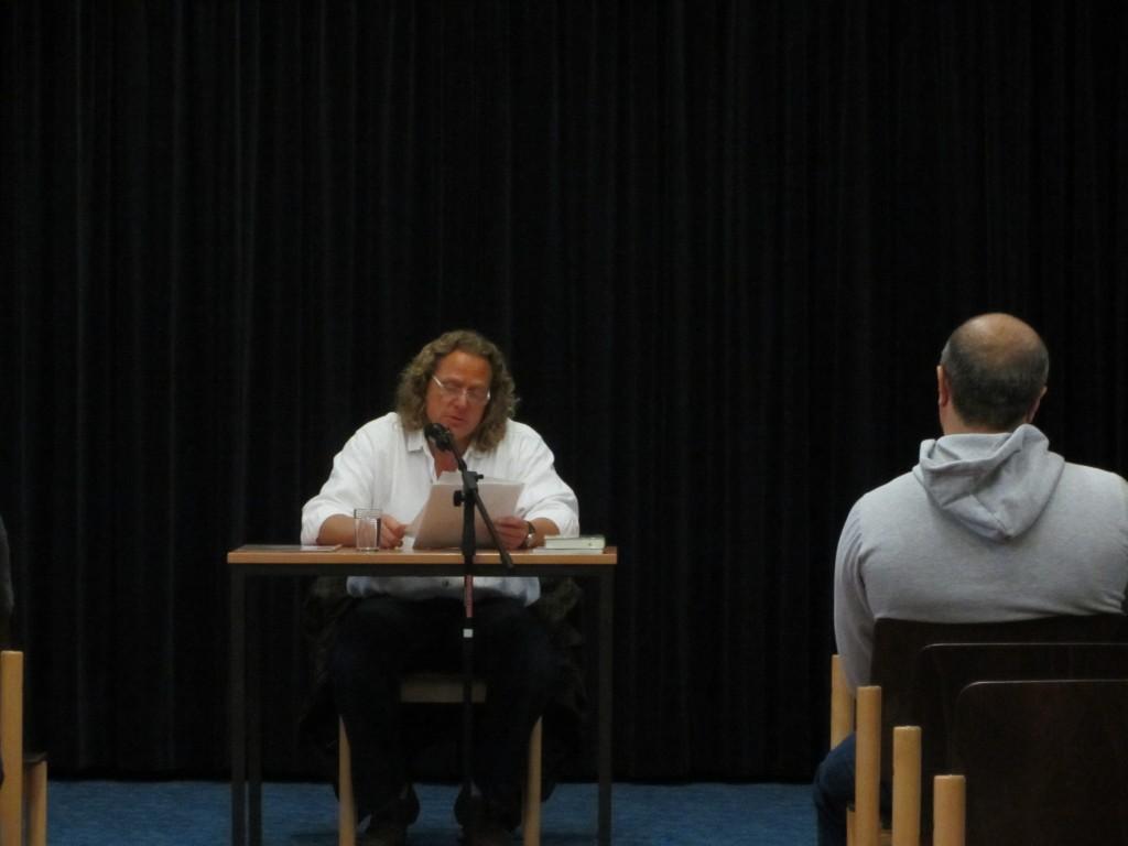 Zu Gast in der Justizvollzugsanstalt Aachen – Dieter Gurkasch liest aus seinem Buch 'Leben Reloaded'