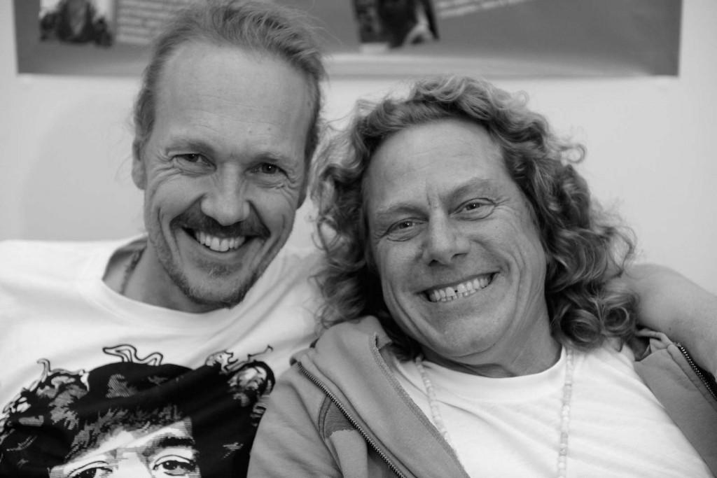 Dieter mit Patrick Broome auf der World of Yoga München 2015