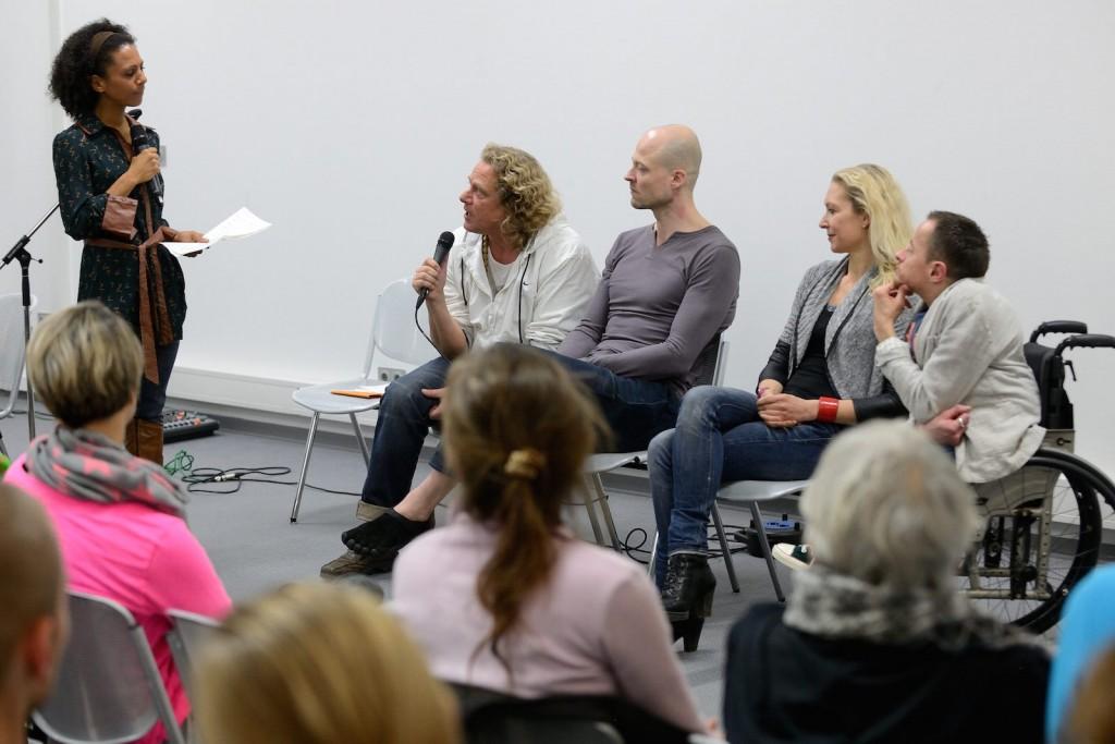 Podiumsdiskussion auf der World of Yoga München 2015