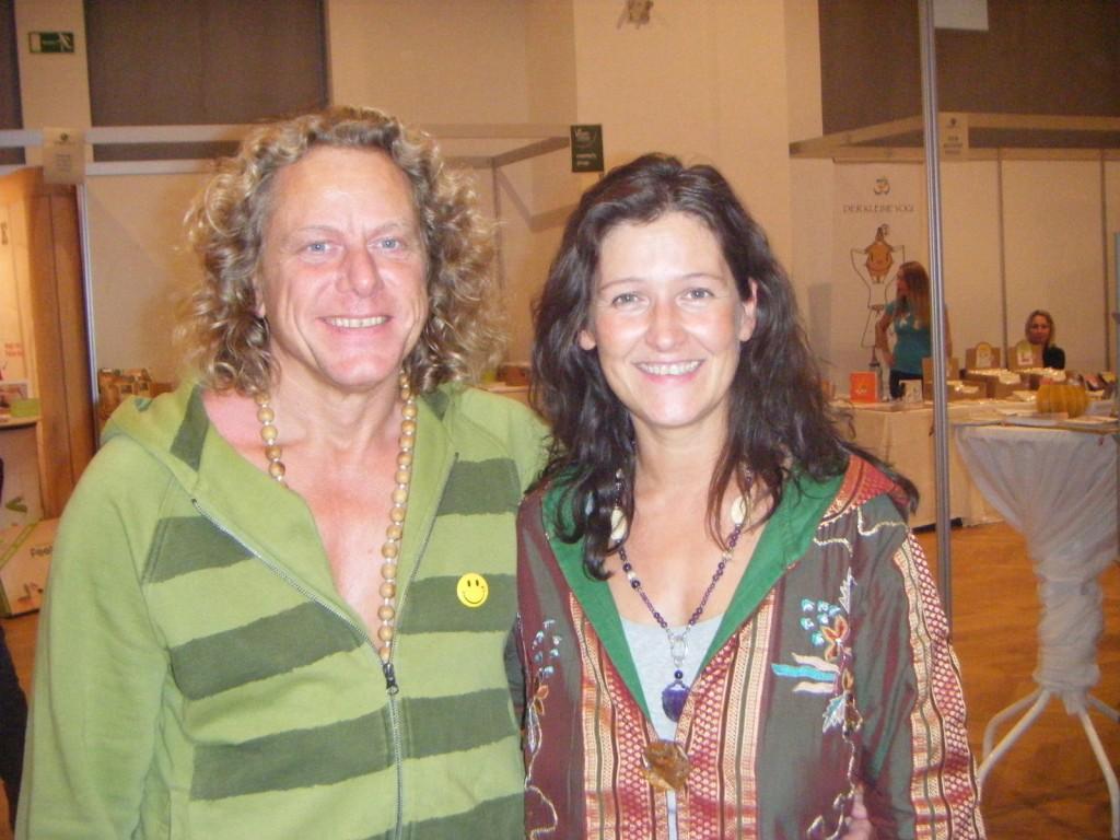 Dieter und Livia Gurkasch auf der Yogaplanet in Wien 2014